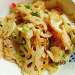 【时令快手蔬菜——清炒藕片怎么做好吃】时令快手蔬菜——清炒藕片的做法,步骤