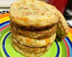 土豆胡萝卜丝饼的做法