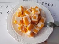 芒果牛奶布丁做法大全