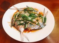 清蒸白鲳鱼的做法