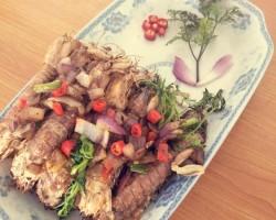 椒盐皮皮虾 超级好吃的做法