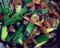 肉丝魔芋豆腐的做法