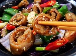 家常菜-干锅肥肠的做法