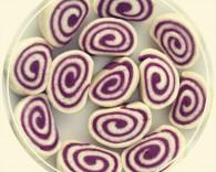 花开紫薯馒头黑人牙膏一招制胜的做法