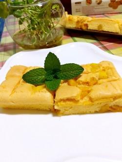 [菜谱换礼2]----芒果蛋糕卷