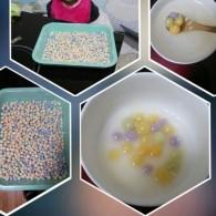 彩色汤圆的做法