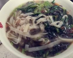 鲜虾蔬菜面条