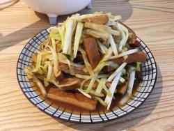 韭黄炒香干的做法