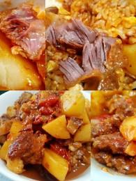 坤博砂锅西红柿土豆炖牛腩的做法