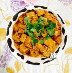 简单家常菜---红烧豆腐