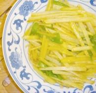 火腿青椒土豆丝怎么做好吃 火腿青椒土豆丝