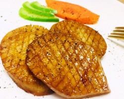 蚝油杏鲍菇#美的女王节#的做法