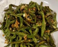 干煸豆角--四川菜