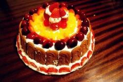 草莓圣诞老人蛋糕怎么做好吃 草莓圣诞老人蛋糕
