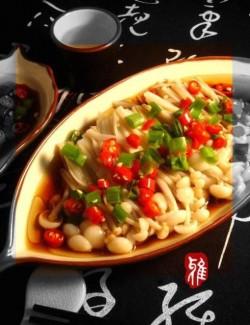 白灼金针菇肥牛 —— 菁选酱油试用菜谱的做法