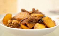 干煸土豆牛肉片