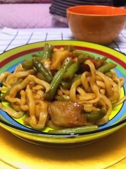 干豆角土豆焖面(1)