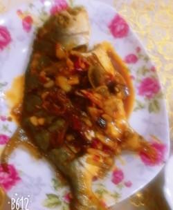 【川菜】--干烧鲳鱼