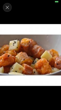 菠萝油条虾视频 | 每日菜谱的做法