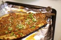 烤出来的超美味-----蒜香肉末烤茄子