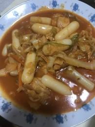 韩国辣炒年糕的做法