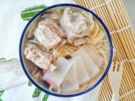 12M+羊排萝卜汤面:宝宝辅食营养食谱菜谱的做法