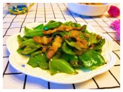 家常菜——青椒炒肉丝