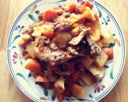 鸡腿炖土豆的做法_美食方法