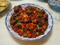 红烧排骨德国Miji爱心菜的做法