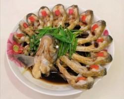 干巴菌菜花清蒸鱼的做法