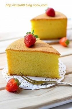 给蛋糕一抹漂亮的颜色----红曲戚风蛋糕卷