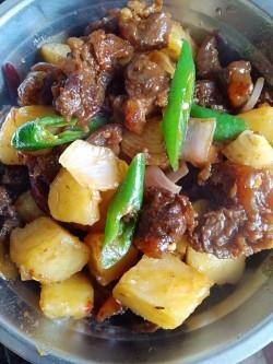 土豆烧牛肉—电压力锅版