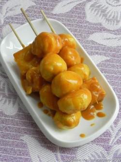 风靡各地的街头小吃——咖喱鱼蛋土豆
