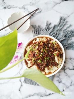 虾仁肉沫蒸豆腐的做法_美食方法