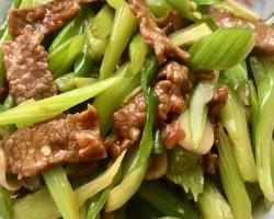 西芹炒牛肉怎么做好吃 西芹炒牛肉的做法