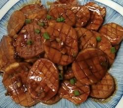 椒盐香煎杏鲍菇