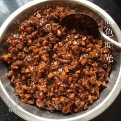 红果家菜谱之鸡肉炸酱面(1)