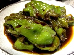简单家常菜---糖醋青椒