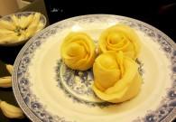 胡萝卜黄玫瑰馒头怎么做好吃