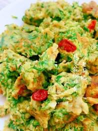 韭菜花炒鸡蛋怎么做好吃 韭菜花炒鸡蛋的做法,配方