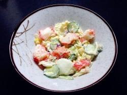 香脆鲷鱼排佐日式沙拉