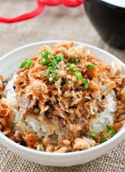 温州糯米饭—附带豆浆、饭团的做法