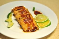 柠汁香煎三文鱼