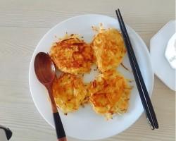 简单的美味【土豆丝饼】的做法