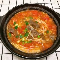 番茄肥牛砂锅的做法_美食方法