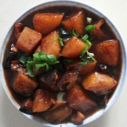 香菇土豆面
