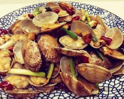 小艾的美食厨房之--辣炒花蛤